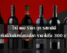 Cheap red wine, taste